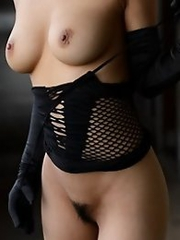 Sweet and busty Japanese av idol Nami Hoshino shows off her amazing body for her viewers
