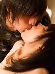 Horny and naked Japanese av idol Tsugumi Muto have sex with her boyfriend