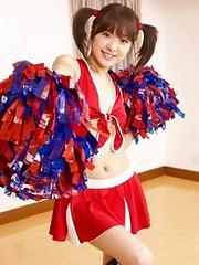 Japanese cheer girl Mihiro