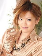 Setsuna shows her body in close up