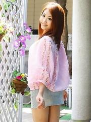 Iori Mizuki gets a hot photo shoot