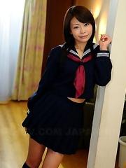 Wonderful Japanese queen Yuri Aine