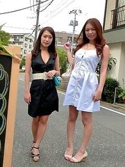 Kai and Yanagida enjoying in sex