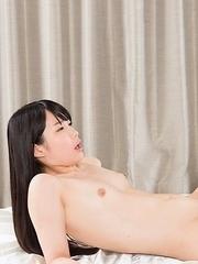 Sara Yurikawa and Yui Kasugano foot-fucking each other's hungry throats on cam
